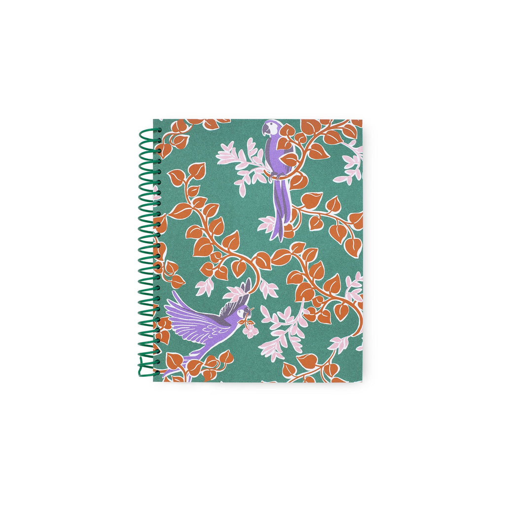 kate spade new york spiral notebook, bird party