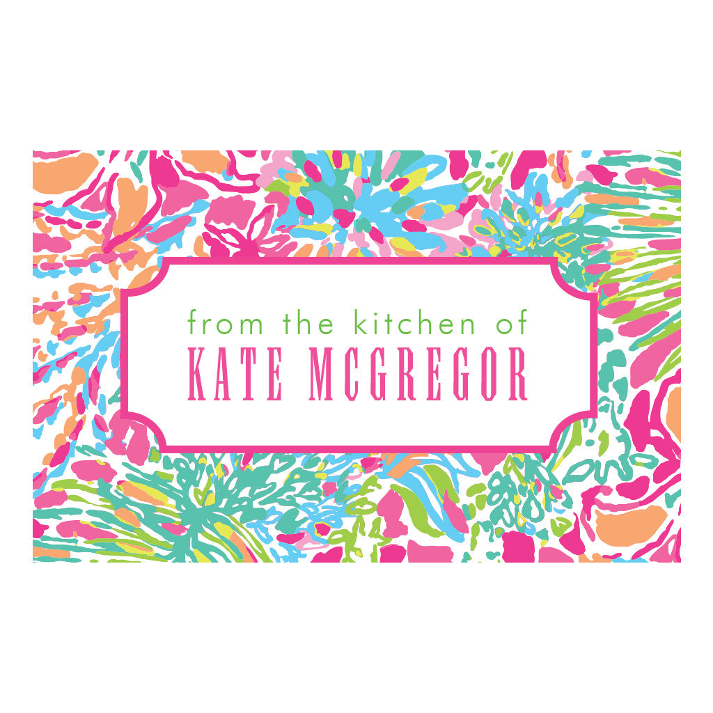 Lilly Pulitzer Personalized Stickers - Spot Ya - lifeguard-press