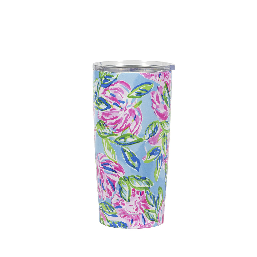 Lilly Pullitzer Stainless Steel Thermal Mug, Totally Blossom