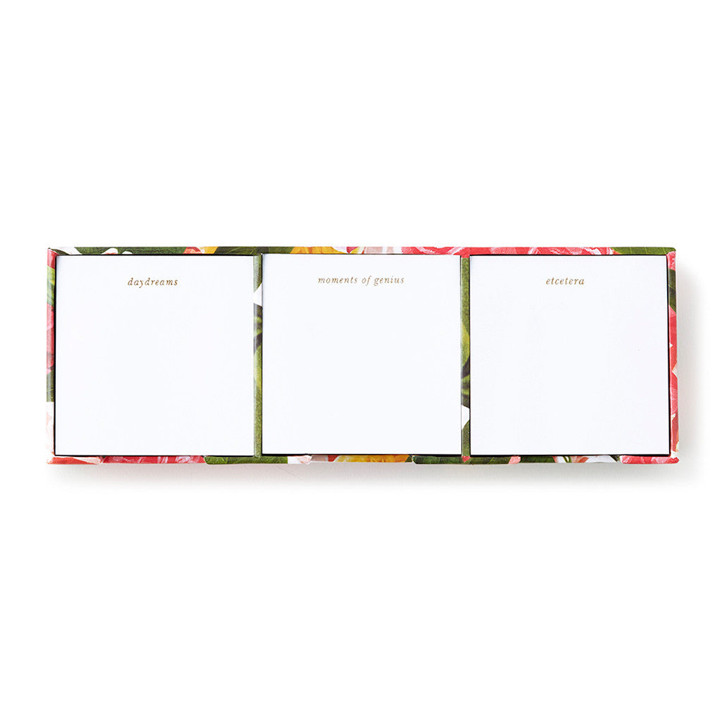 kate spade new york sticky note set - floral - lifeguard-press