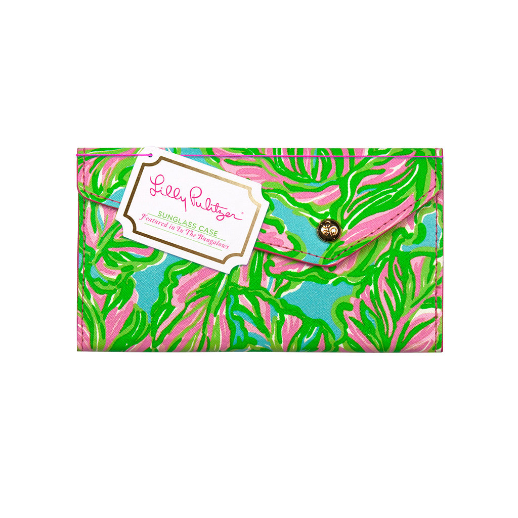 Lilly Pulitzer Sunglass Case - In the Bungalows - lifeguard-press - 1