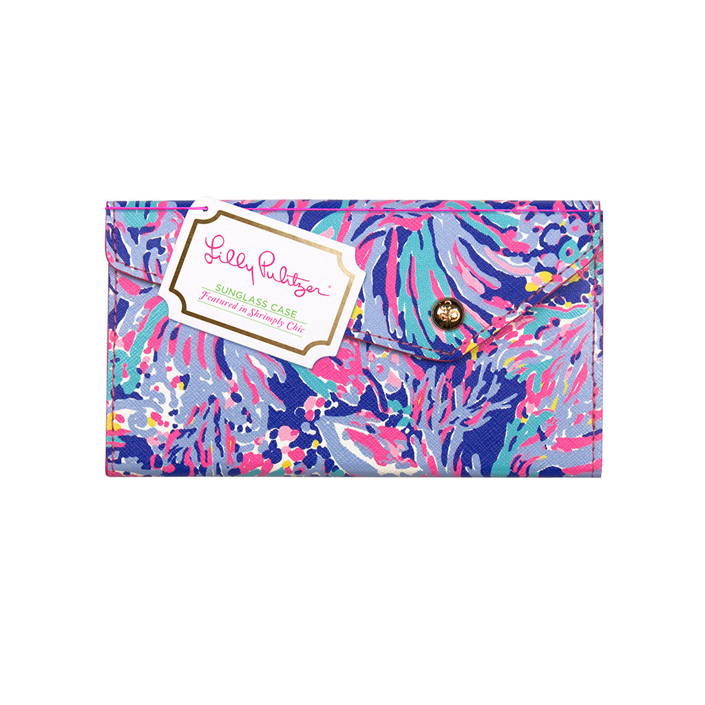 Lilly Pulitzer Sunglass Case - Shrimply Chic - lifeguard-press - 1