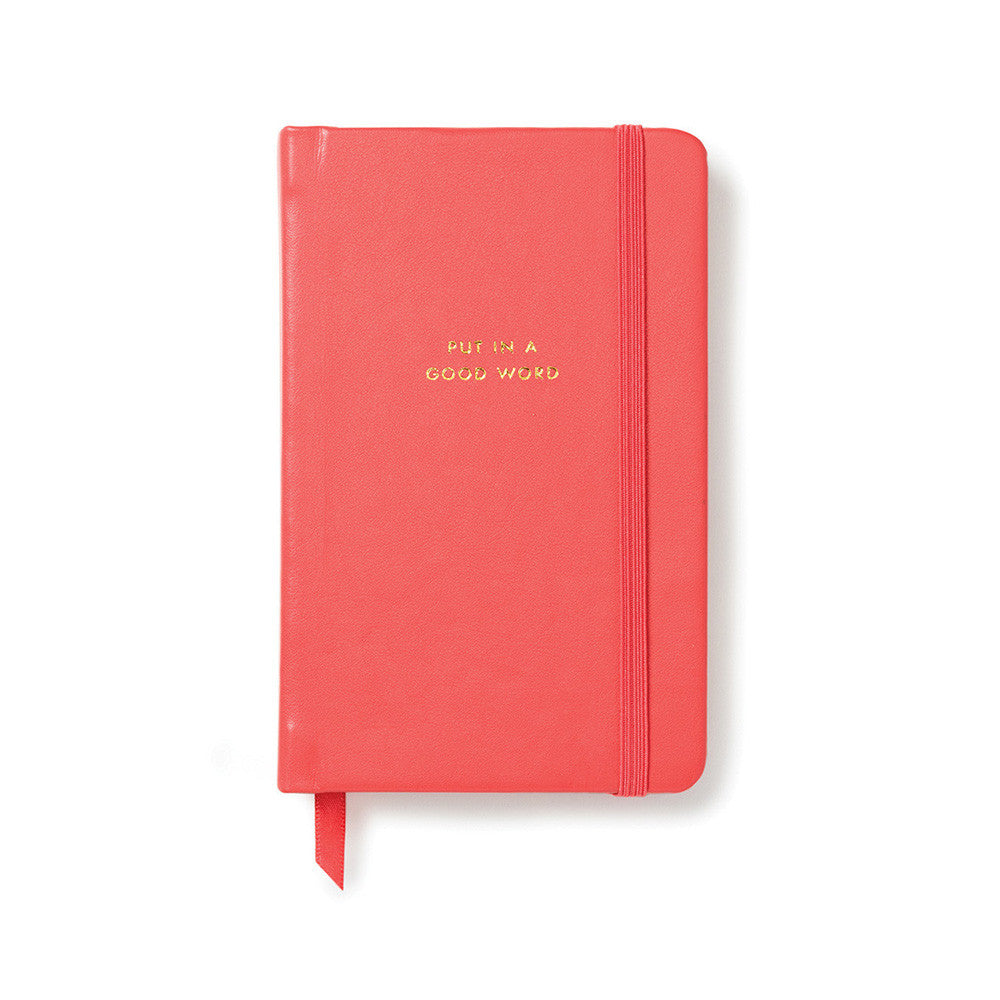 kate spade new york take note medium notebook - put in a good word - lifeguard-press