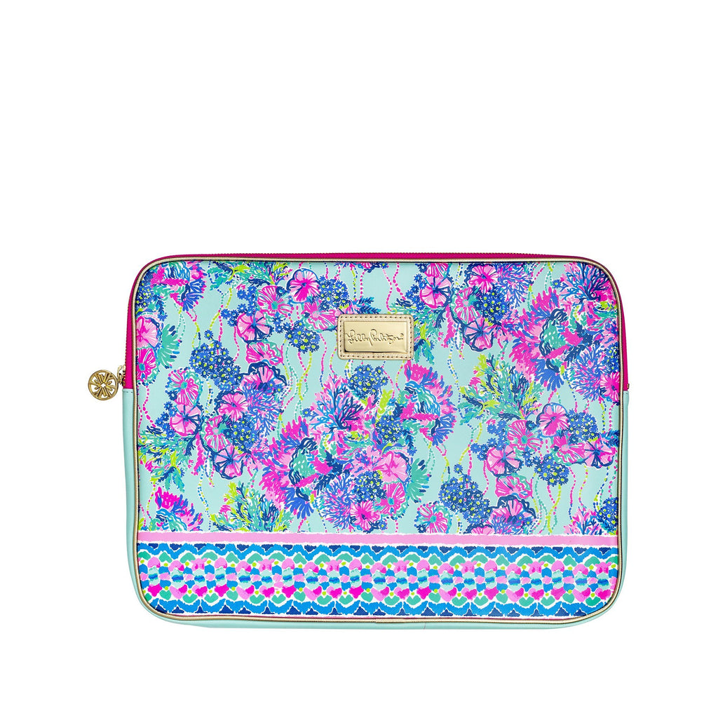 Lilly Pulitzer Laptop Sleeve, Beach You To It