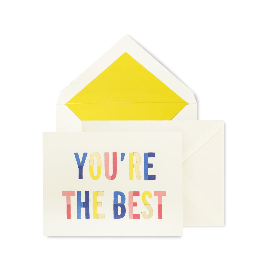 Notecard Set (Thank You), You're the Best