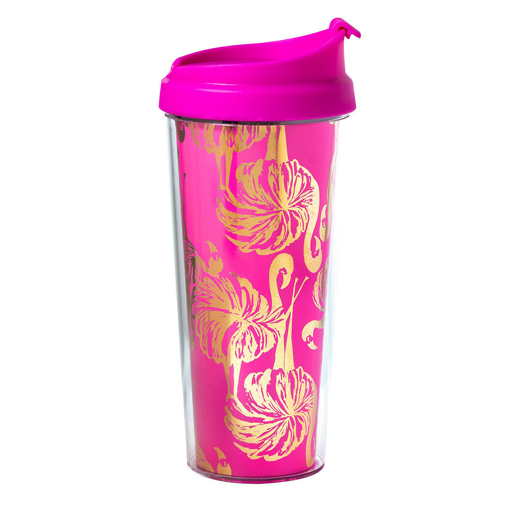 Lilly Pulitzer Thermal Mug - Gimme Some Leg - lifeguard-press - 1