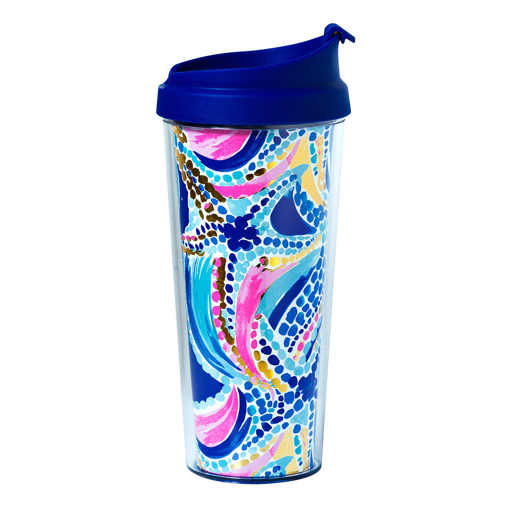 Lilly Pulitzer Thermal Mug - Ocean Jewels - lifeguard-press - 1