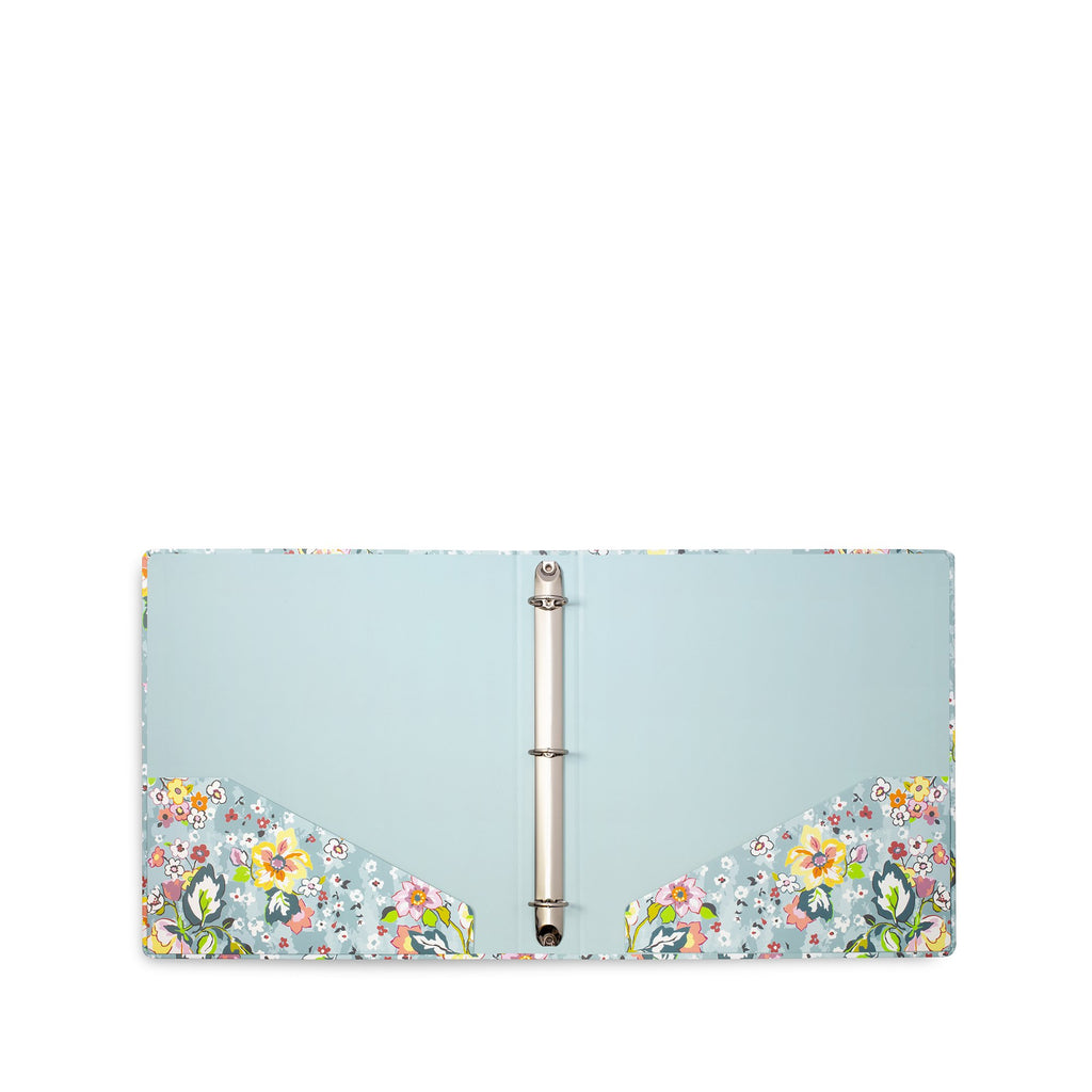 Vera Bradley 3-ring Binder, Floating Garden