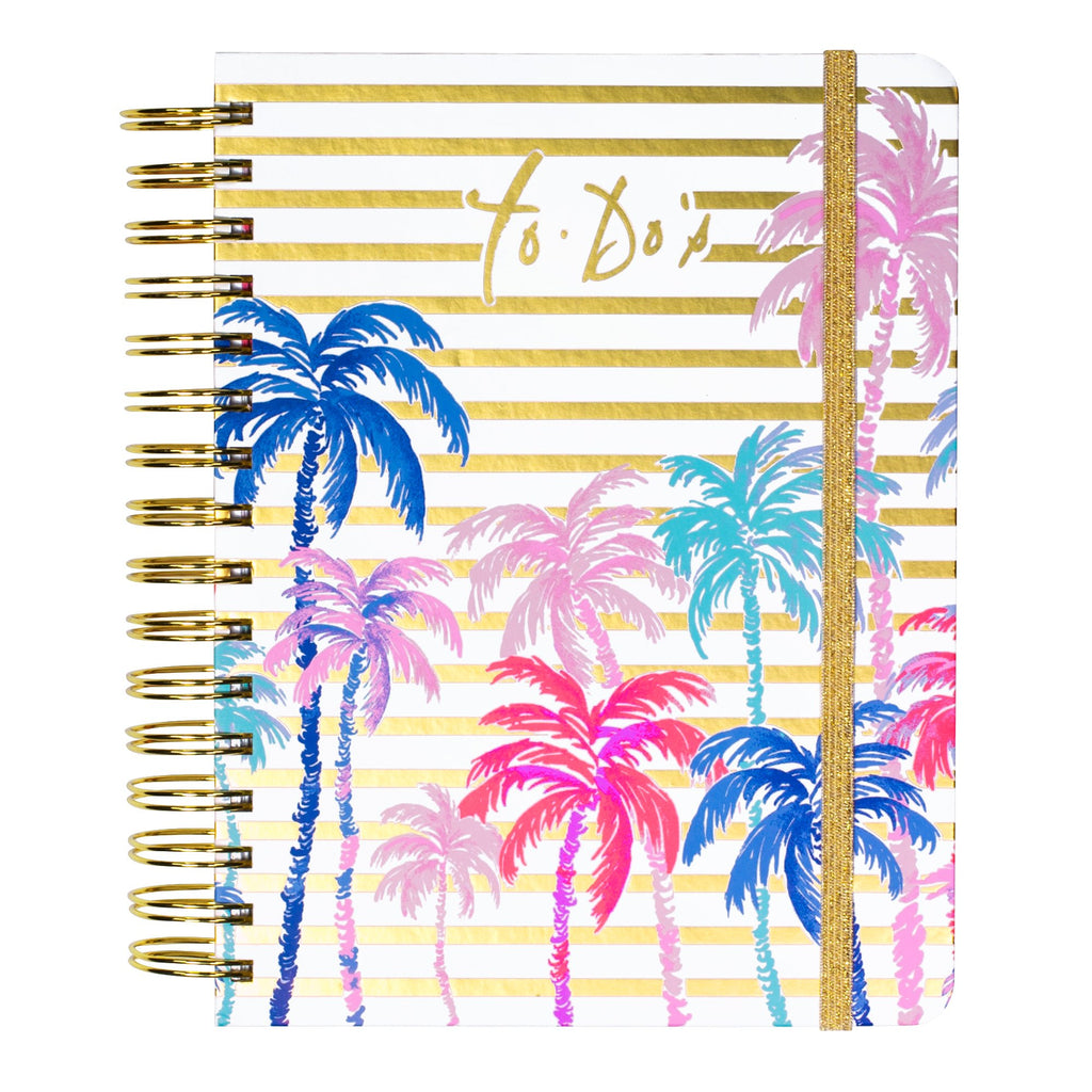 Lilly Pulitzer To Do Planner, Palms