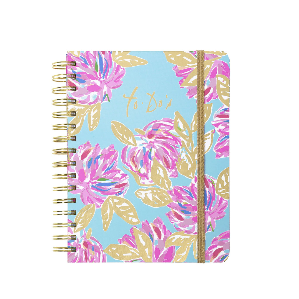 Lilly Pullitzer To-Do Planner, Totally Blossom