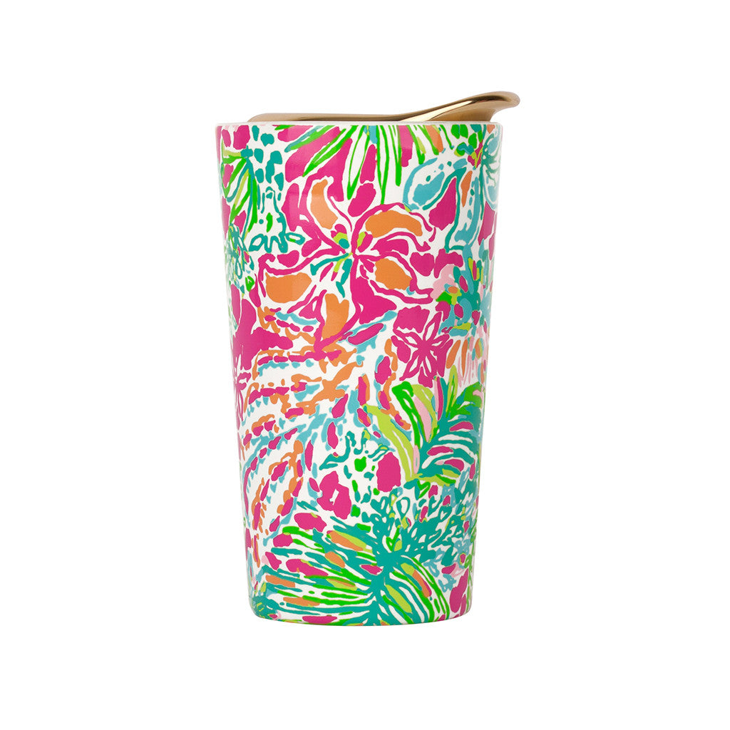 Lilly Pulitzer Travel Mug - Spot Ya - lifeguard-press - 2