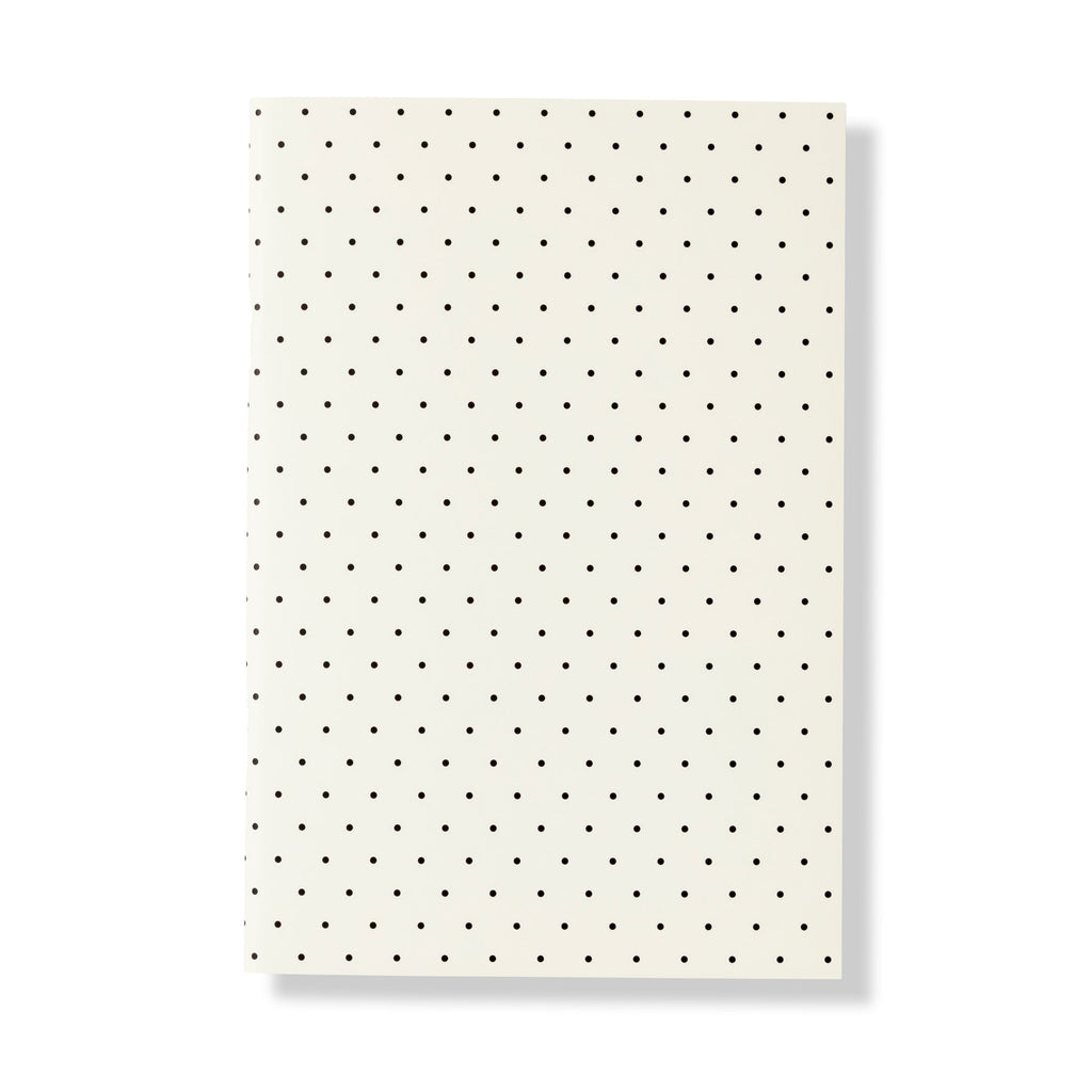kate spade new york triple notebook set, black dot