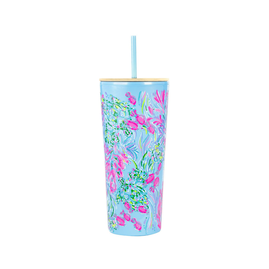 Tumbler with Straw, Best Fishes