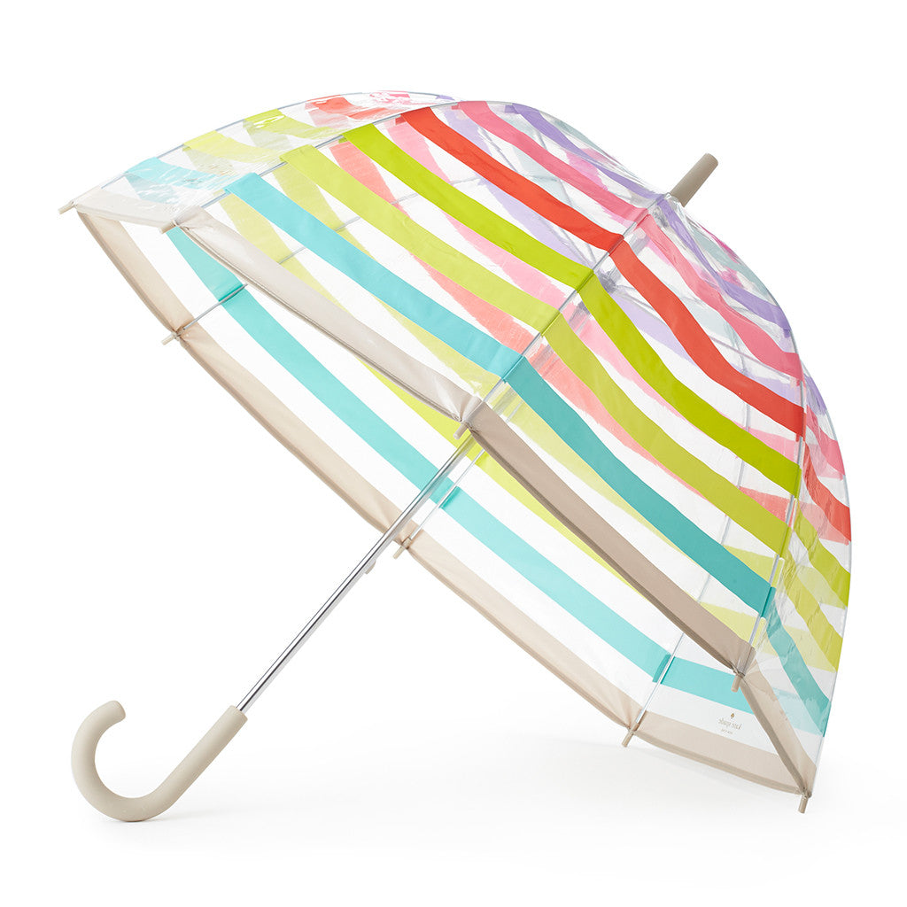 kate spade new york umbrella - candy stripe - lifeguard-press