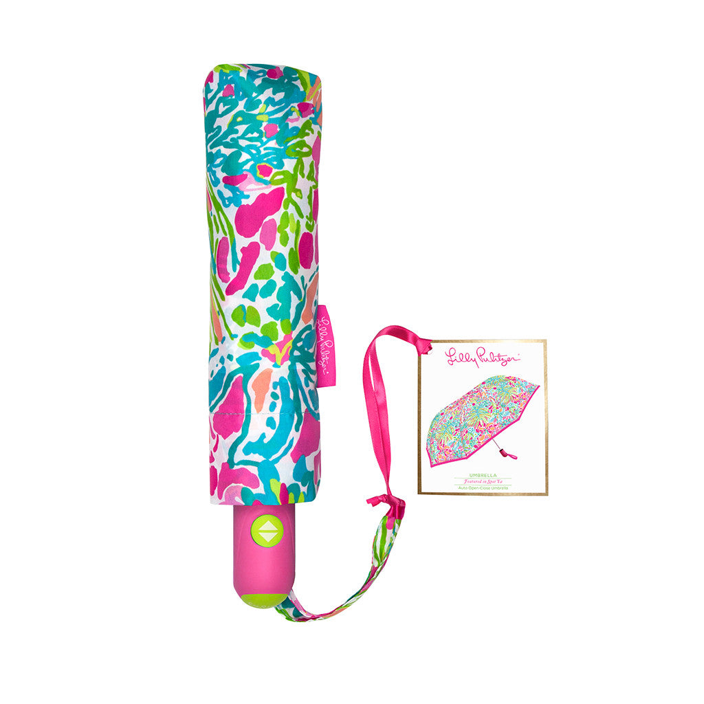 Lilly Pulitzer Umbrella - Spot Ya - lifeguard-press