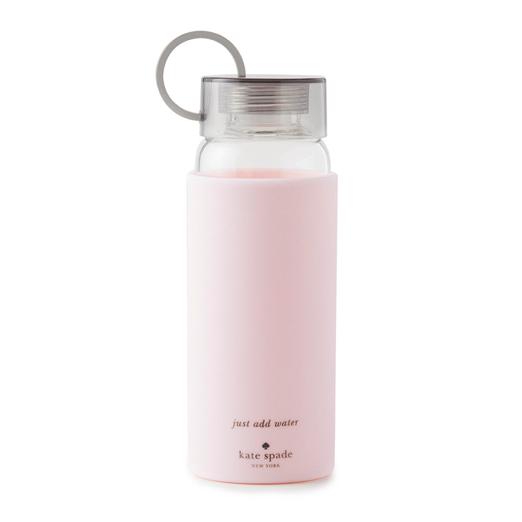 kate spade new york water bottle - blush colorblock - lifeguard-press