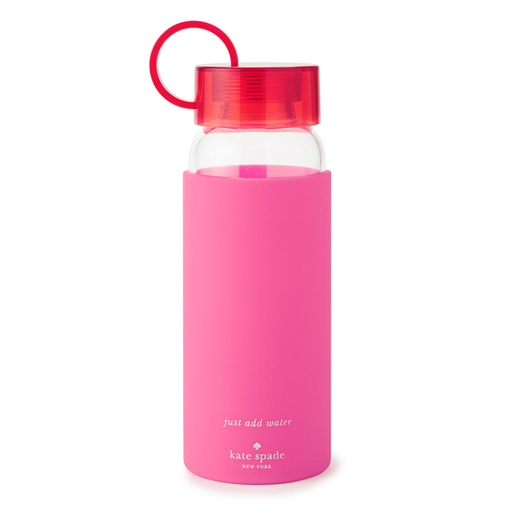 kate spade new york water bottle - colorblock pink - lifeguard-press