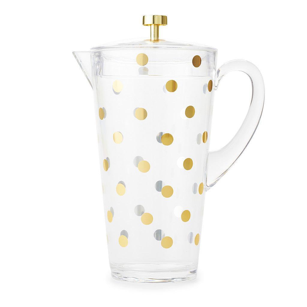 kate spade new york water pitcher - raise a glass - lifeguard-press - 1