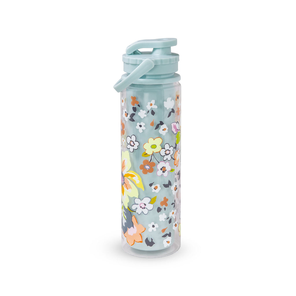 Vera Bradley Sport Water Bottle, Floating Garden