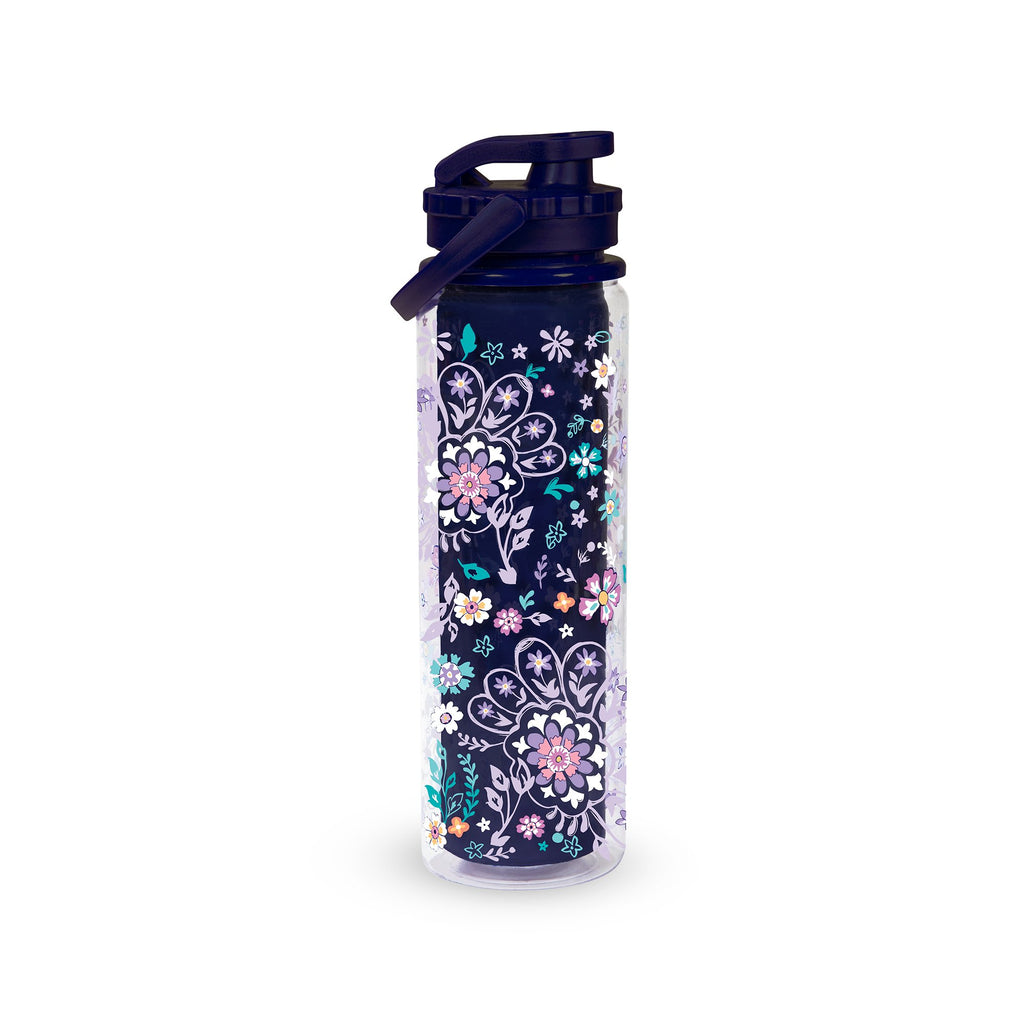 Vera Bradley Sport Water Bottle, French Paisley