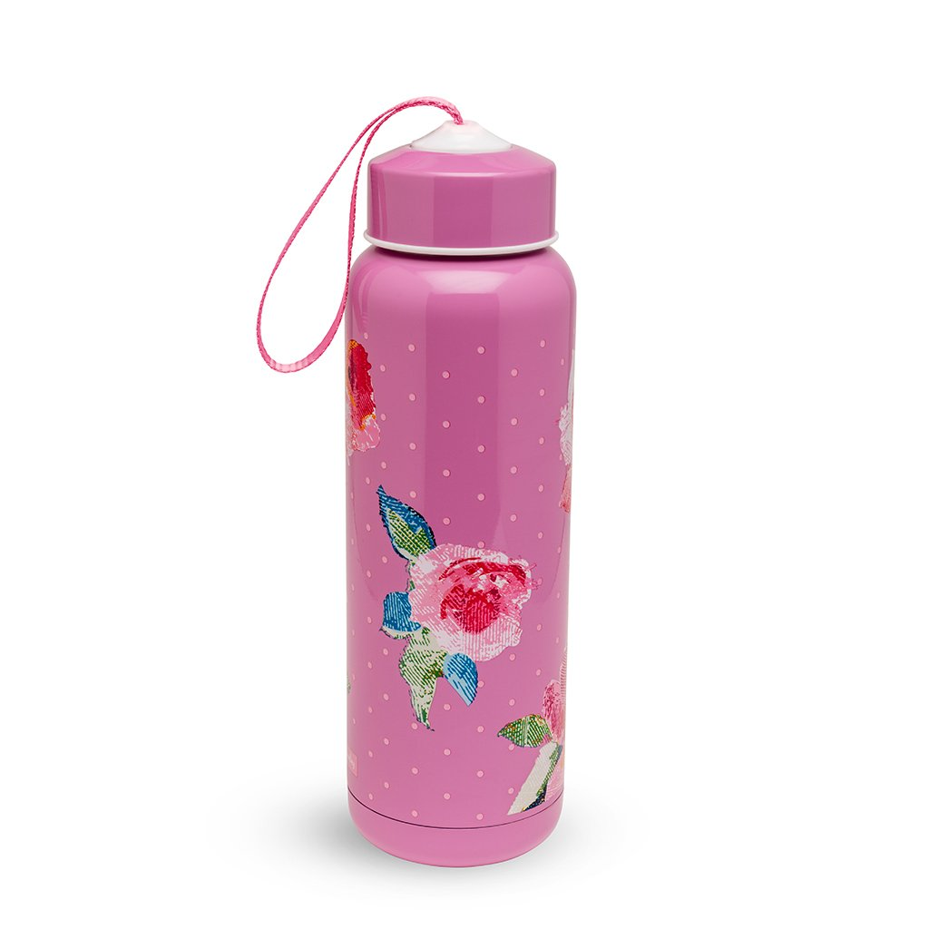 Vera Bradley Water Bottle - Superbloom Dots