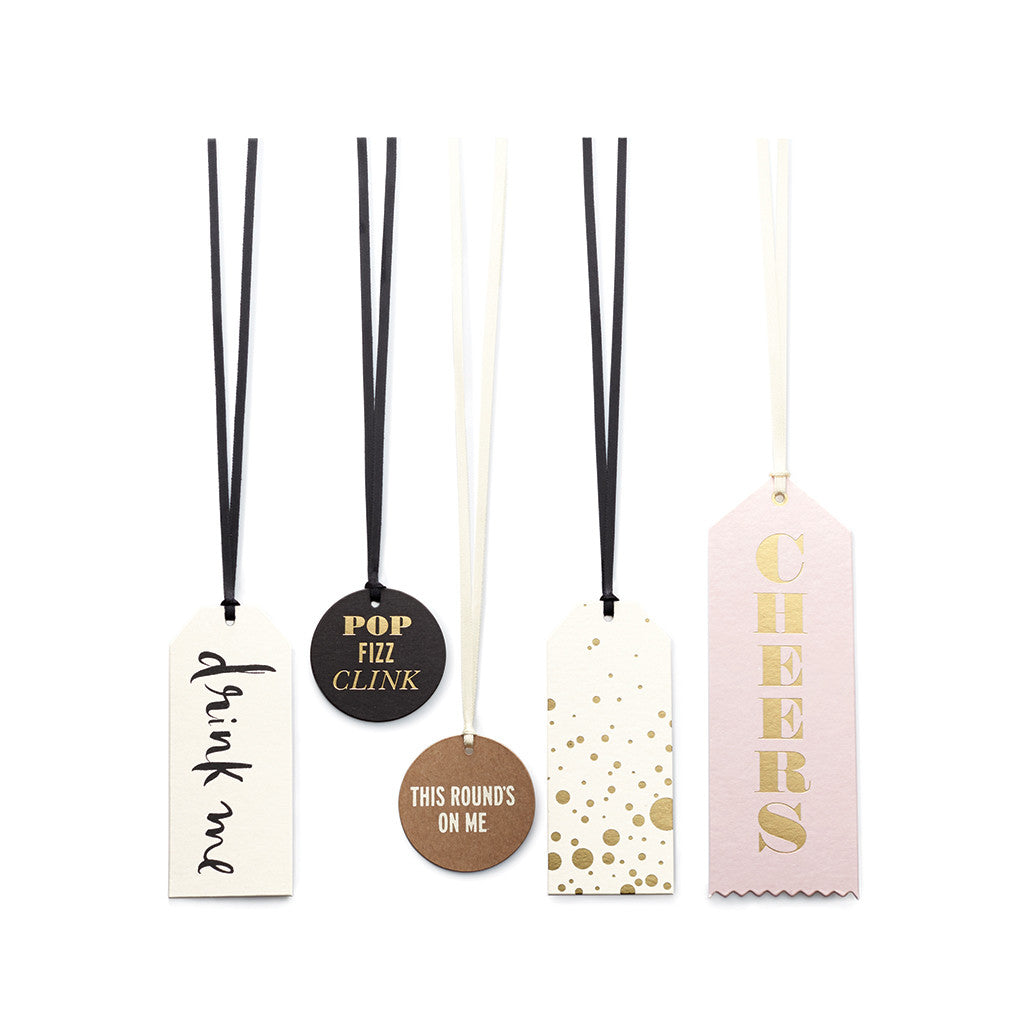 kate spade new york wine tag set - cheers - lifeguard-press