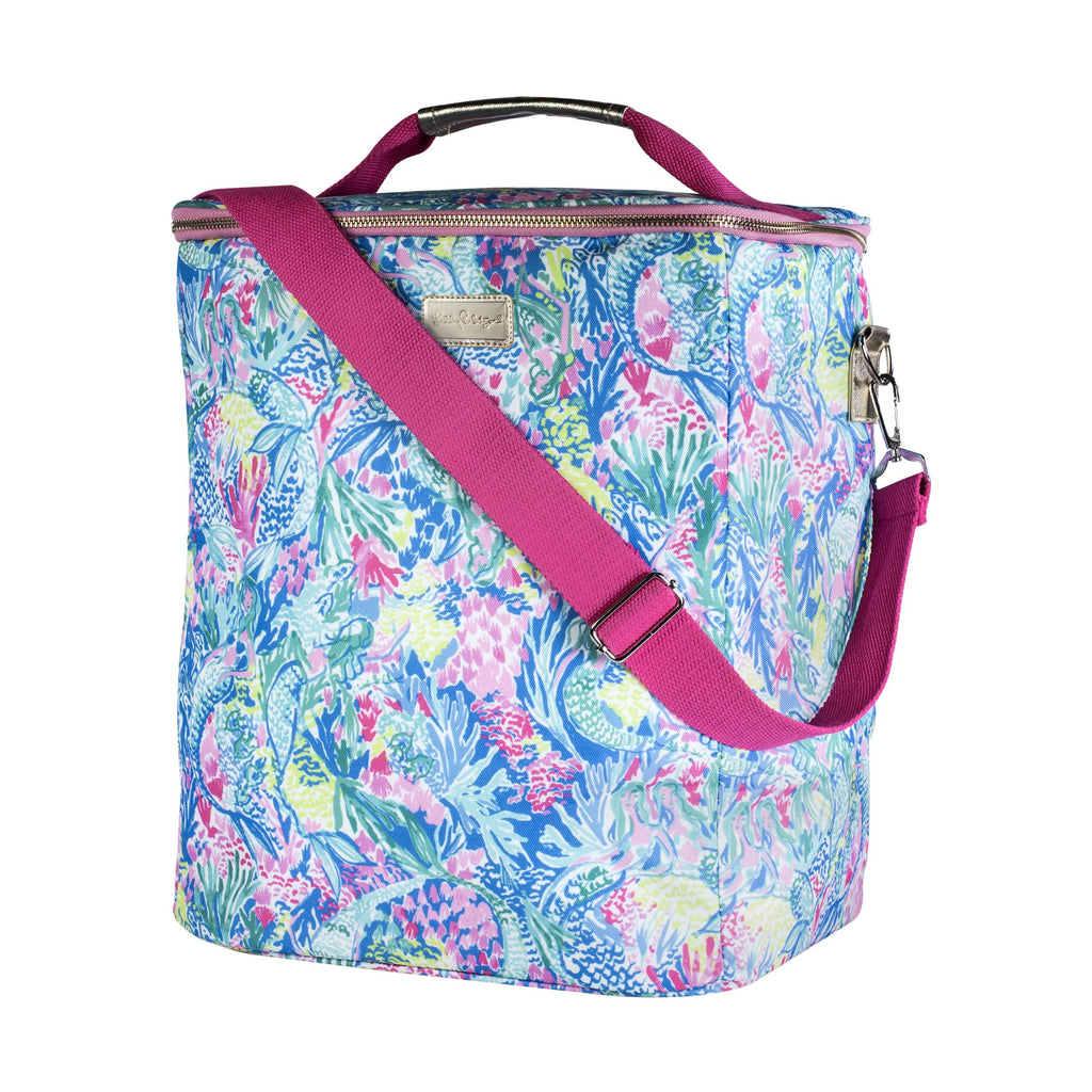 Lilly Pulitzer Wine Carrier, Mermaids Cove