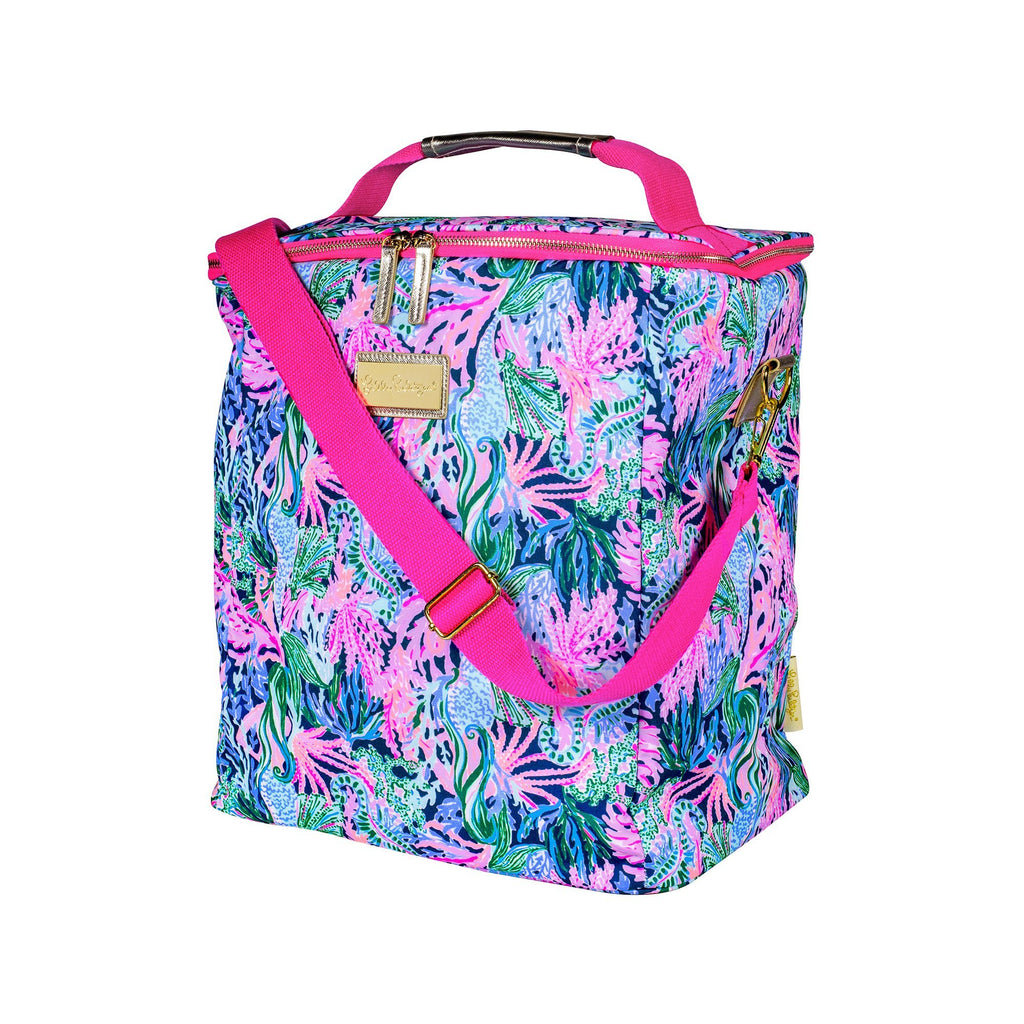 Lilly Pulitzer Wine Carrier, Bringing Mermaid Back