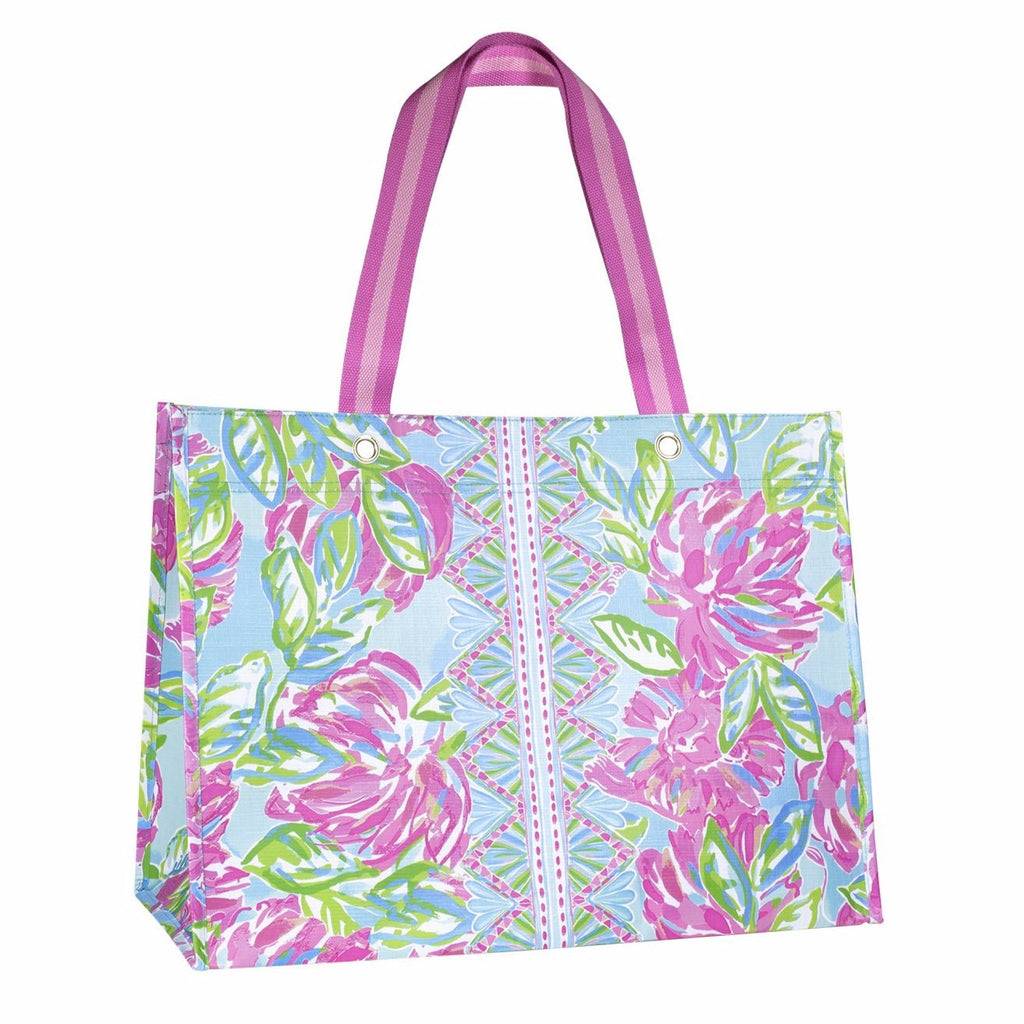 Lilly Pullitzer XL Market Shopper, Totally Blossom