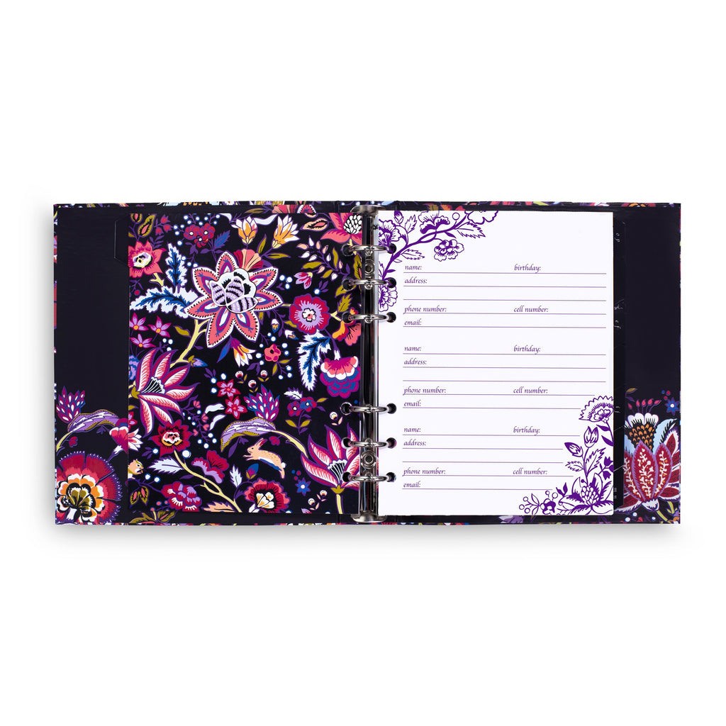 Vera Bradley Address Book, Foxwood