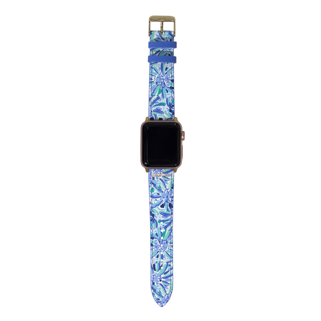 Lilly Pulitzer Apple Watch Band, High Manetenance