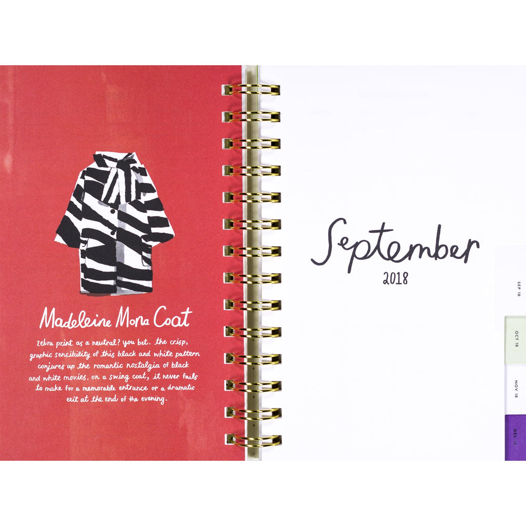 kate spade new york Large Planner, Illustrative (Aug-Aug)