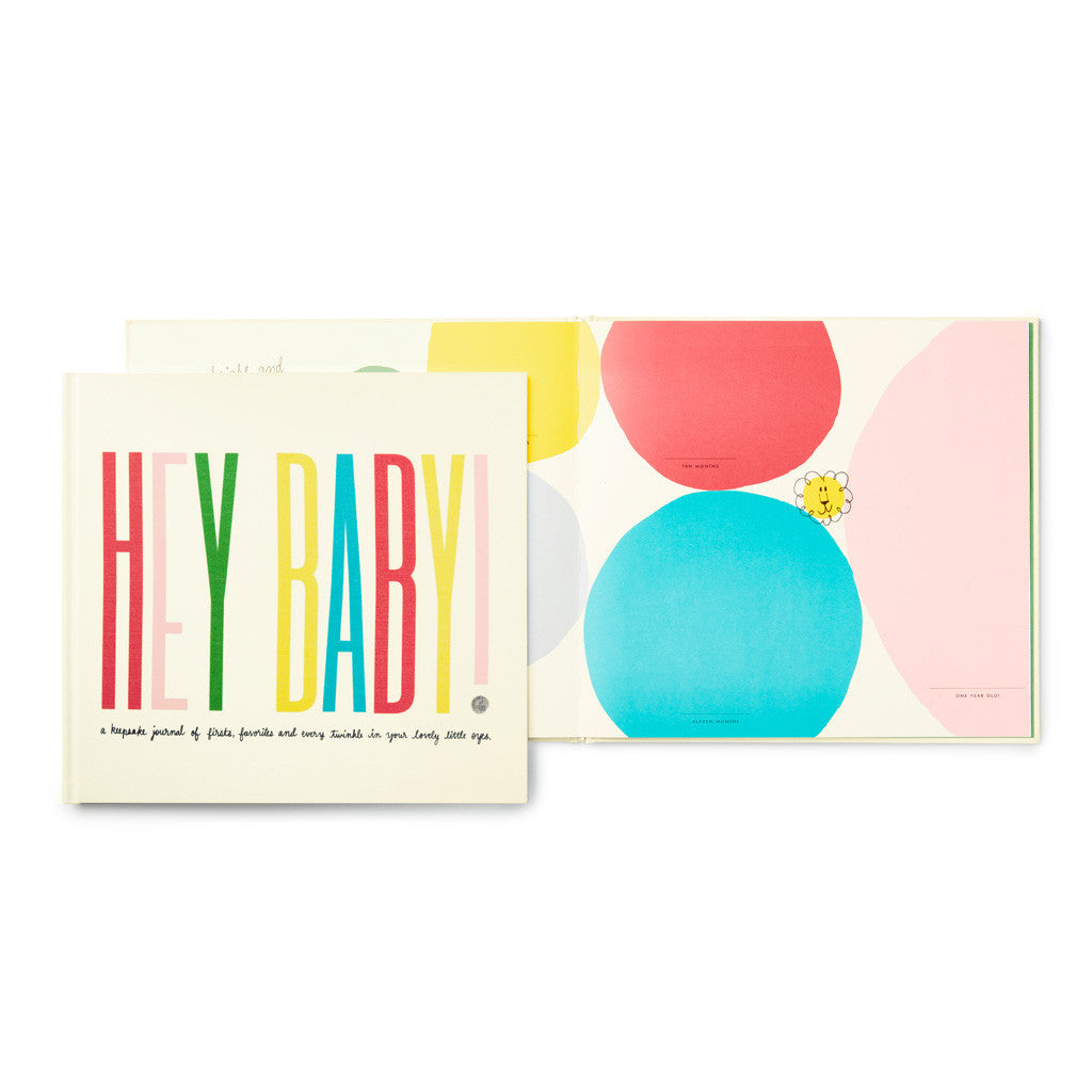 kate spade new york First Year Book - Hey Baby