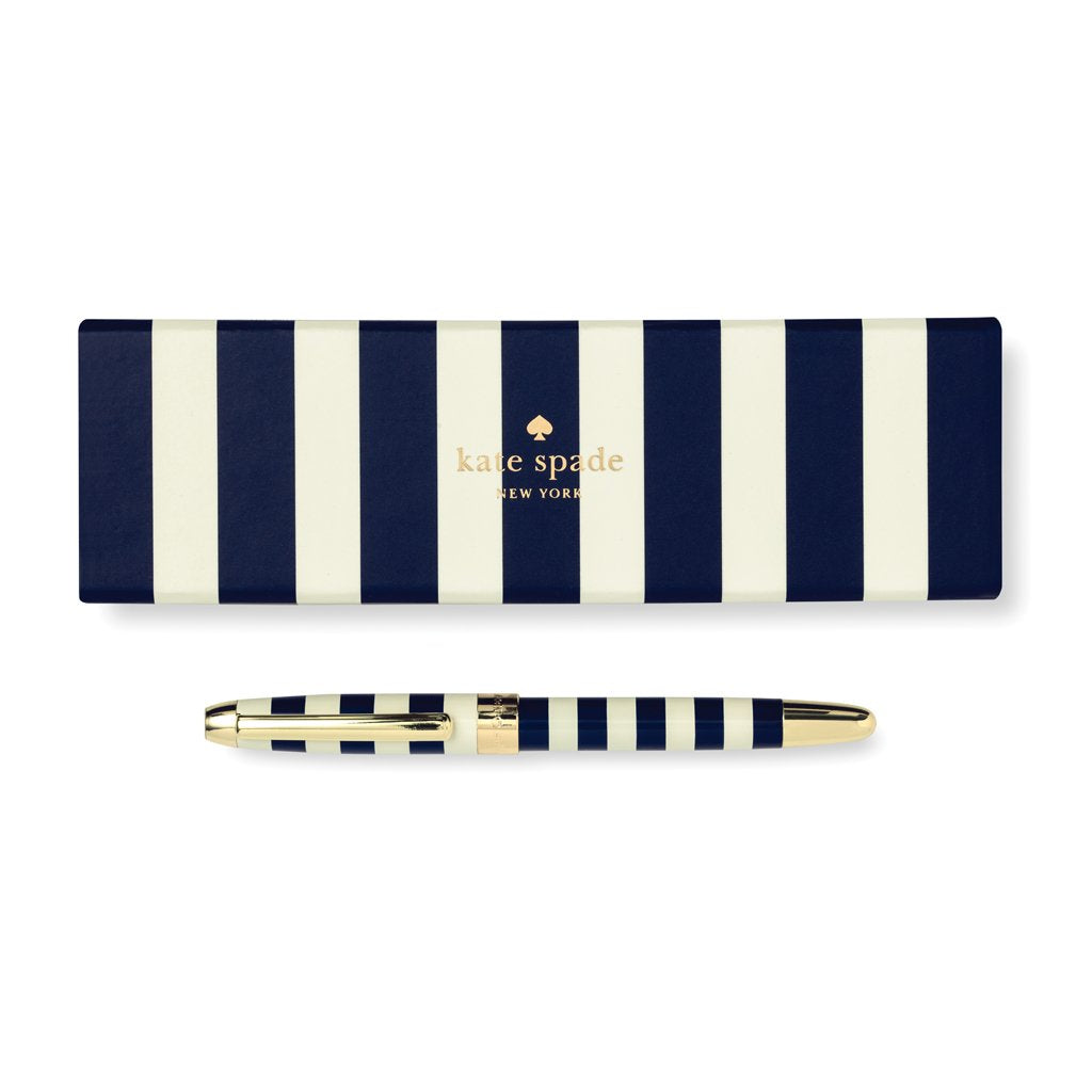 kate spade new york Ballpoint Pen - Navy Stripe