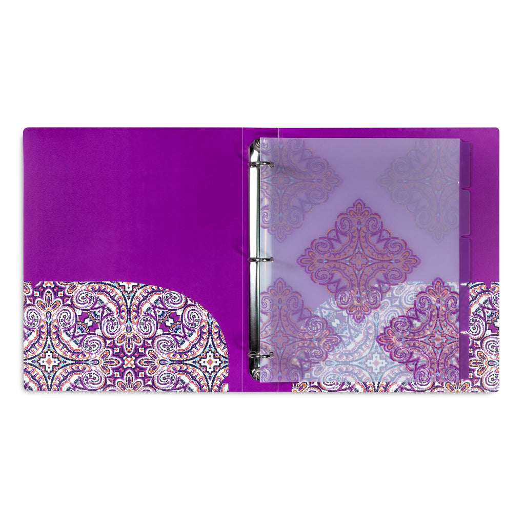 Vera Bradley 3 Ring Binder, Dream Tapestry