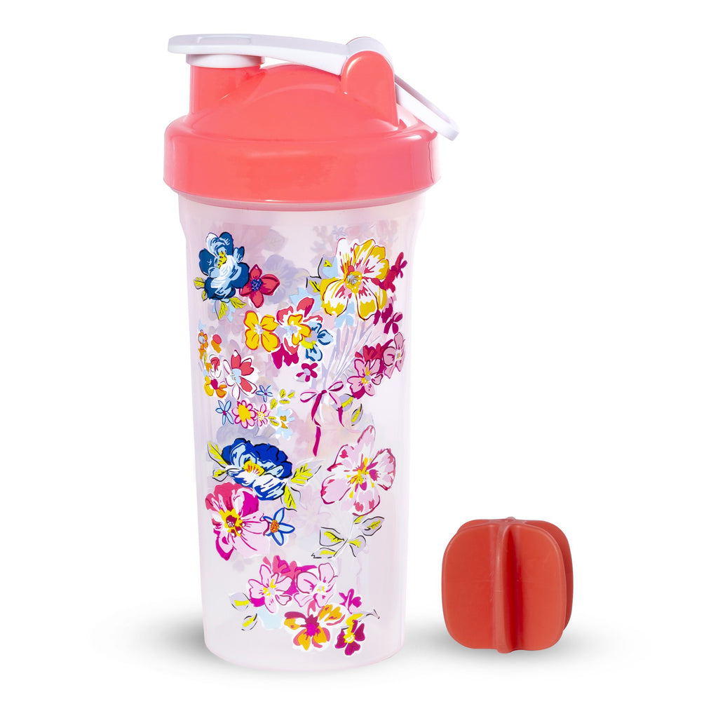 Shaker Bottle, Pretty Posies
