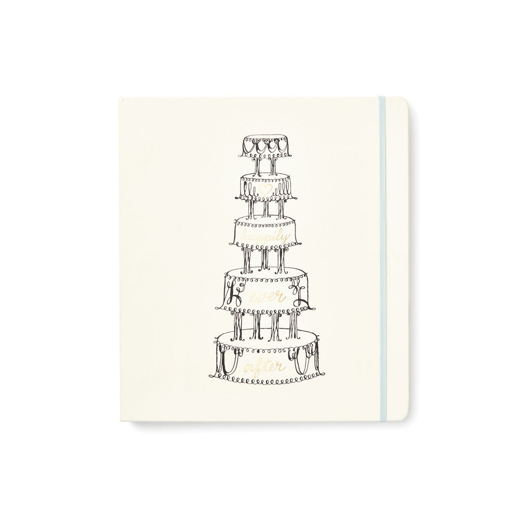 kate spade new york bridal planner - happily ever after