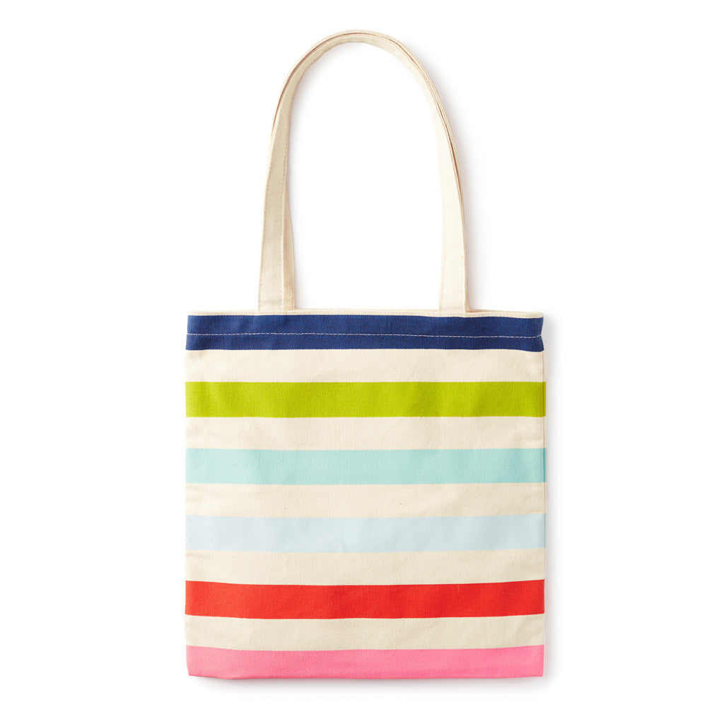 3e5ac0ab3 kate spade new york Canvas Book Tote - Candy Stripe - Lifeguard Press