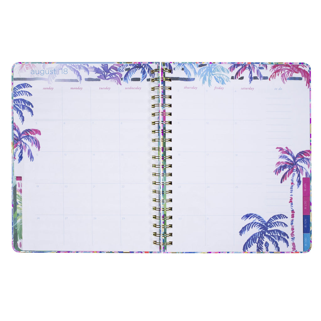 lilly pulitzer 17 month jumbo agenda - Catch the wave