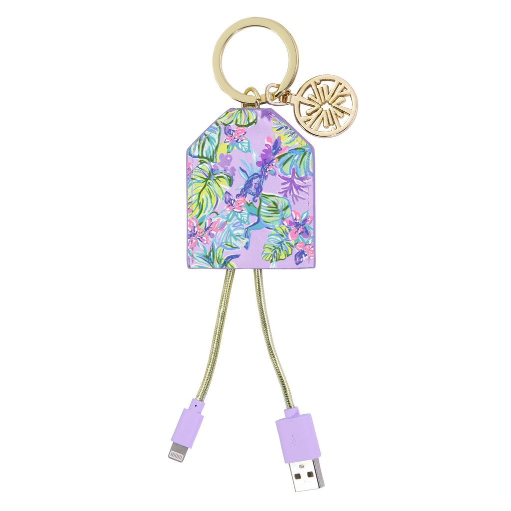 Lilly Pulitzer Charging Tag, Mermaid in the Shade