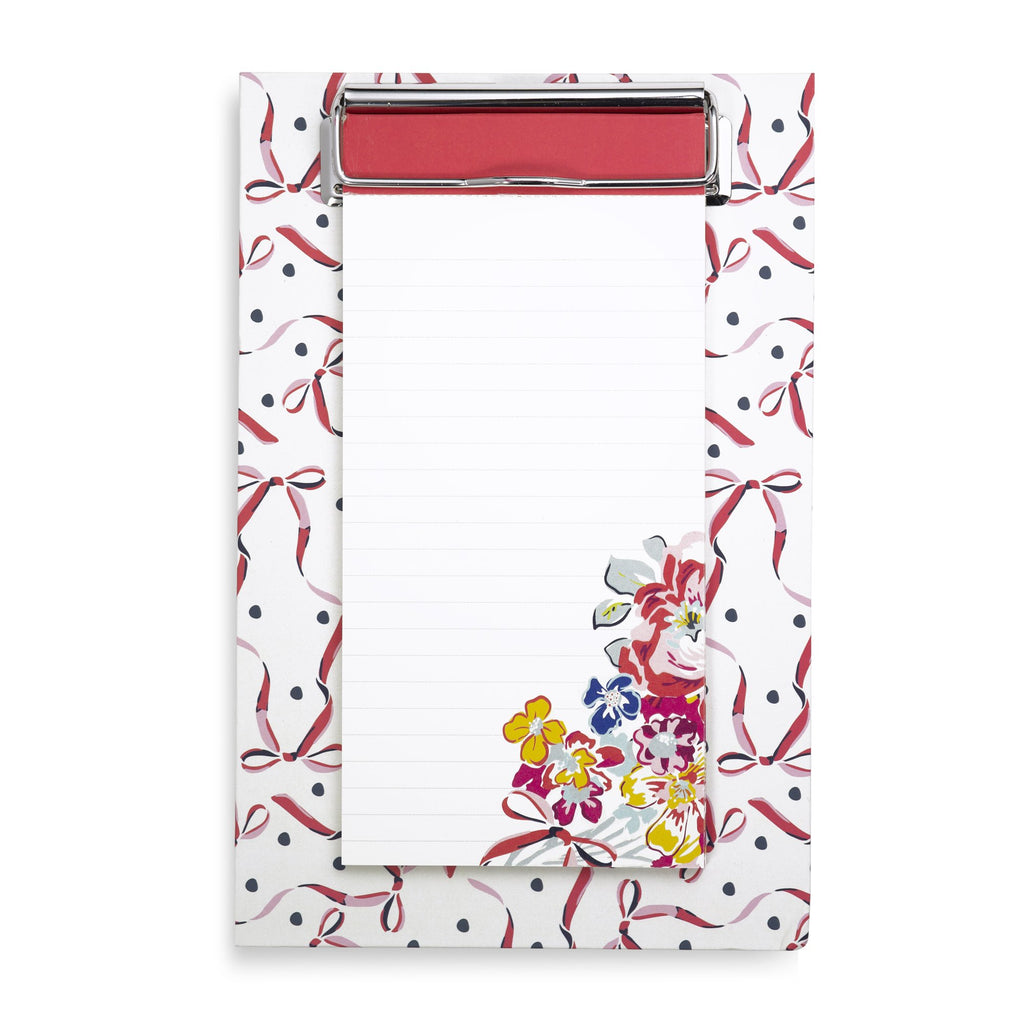 Vera Bradley Small Clip Notes - Pretty Posies