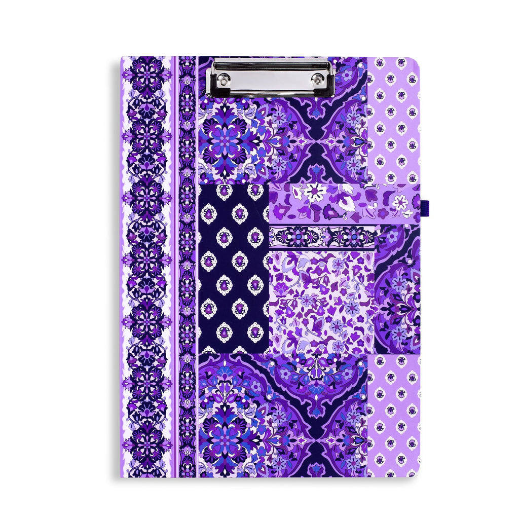 Vera Bradley Clipboard Folio, Regal Rosette