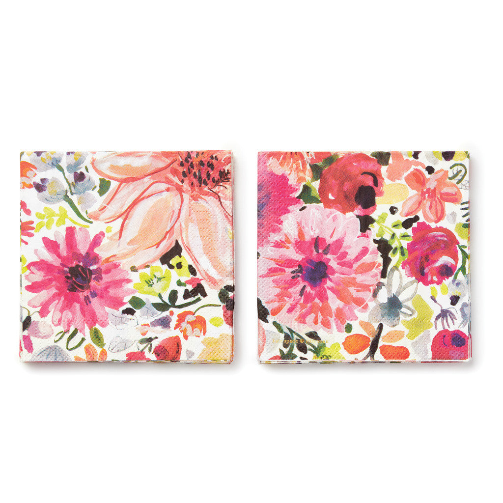 kate spade new york cocktail napkins - dahlia