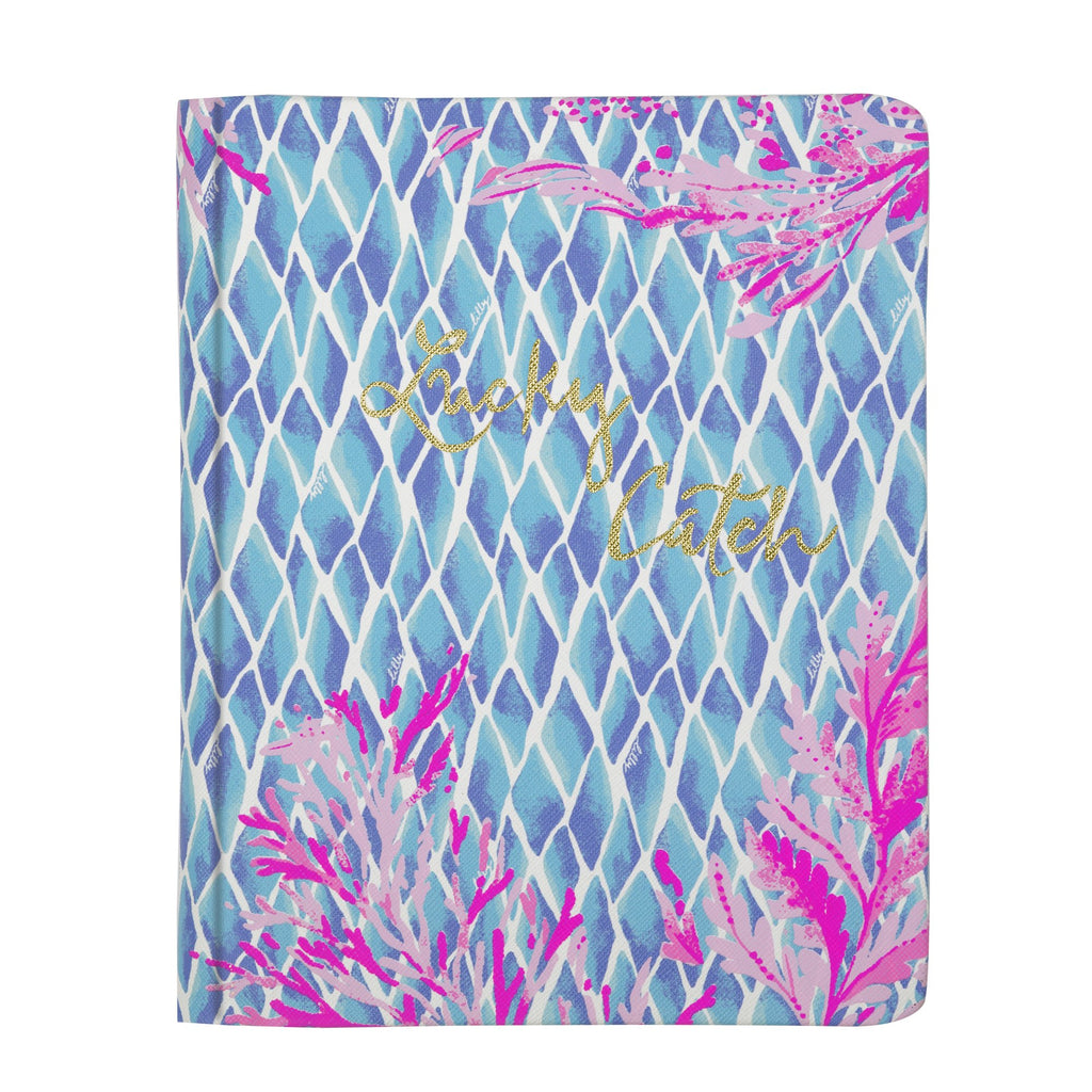 Lilly Pulitzer Concealed Spiral Journal, Kaleidoscope Coral