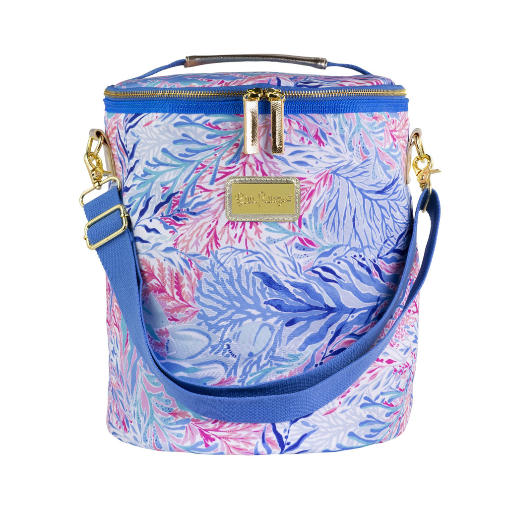 Lilly Pulitzer Beach Cooler, Kaleidoscope Coral