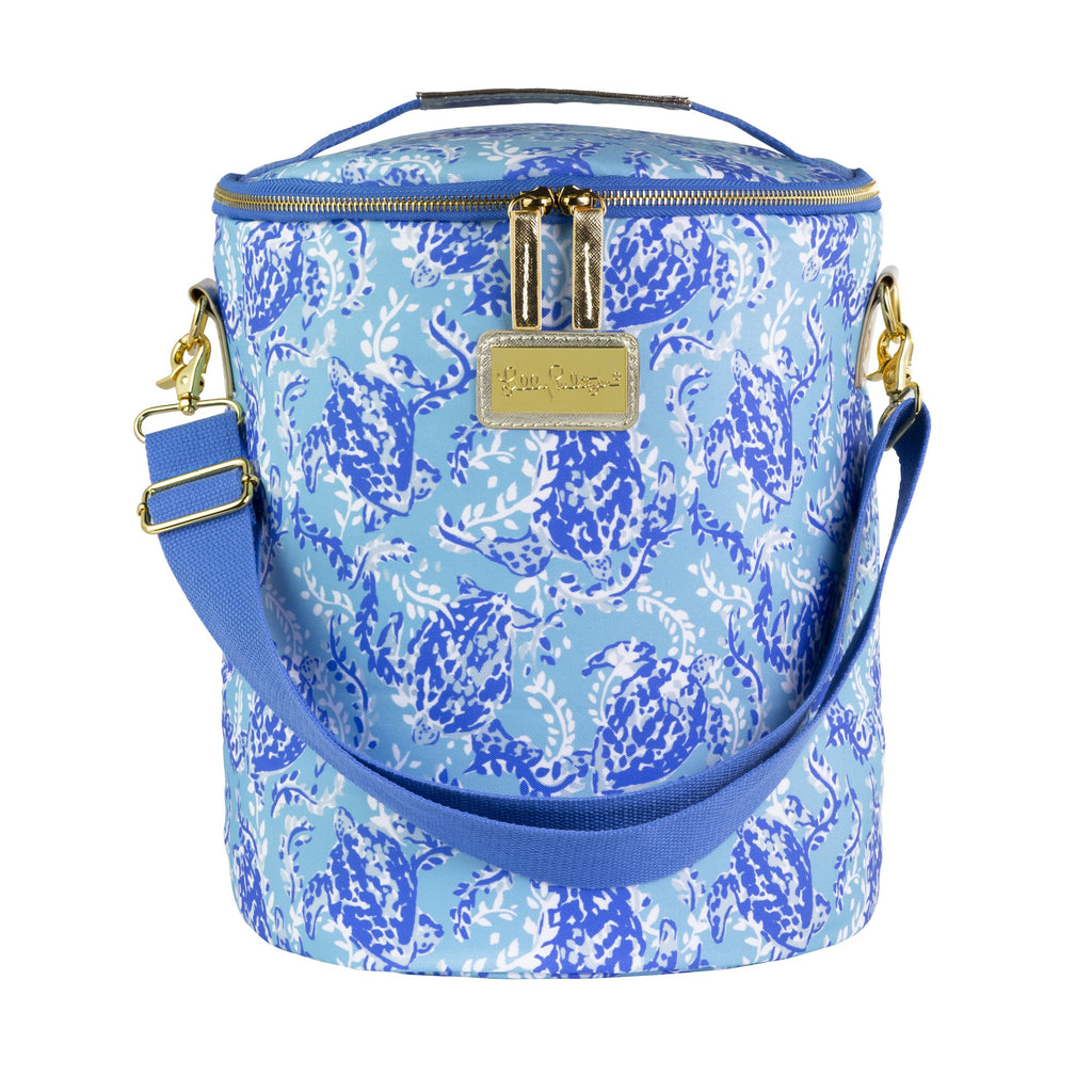 Lilly Pulitzer Beach Cooler, Turtley Awesome
