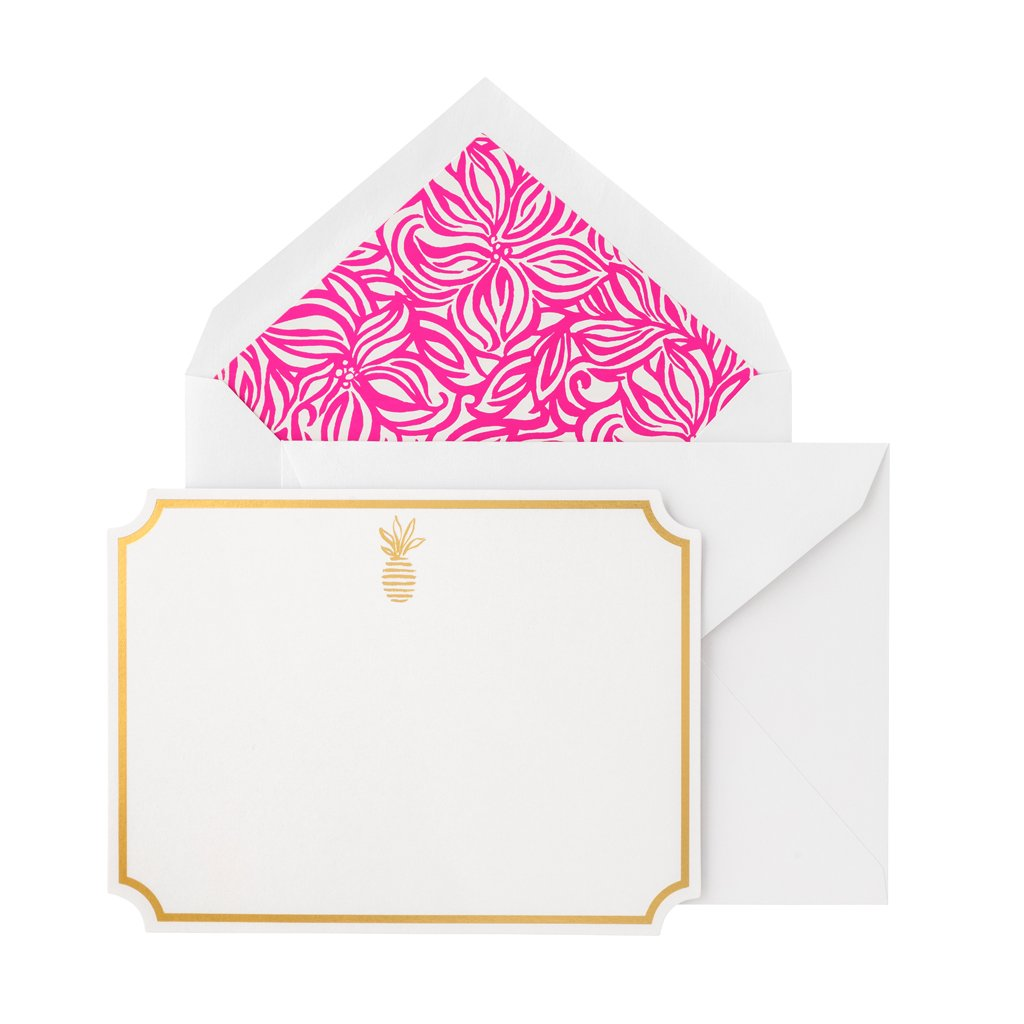 Lilly Pulitzer Correspondence Cards - Swirling Floral