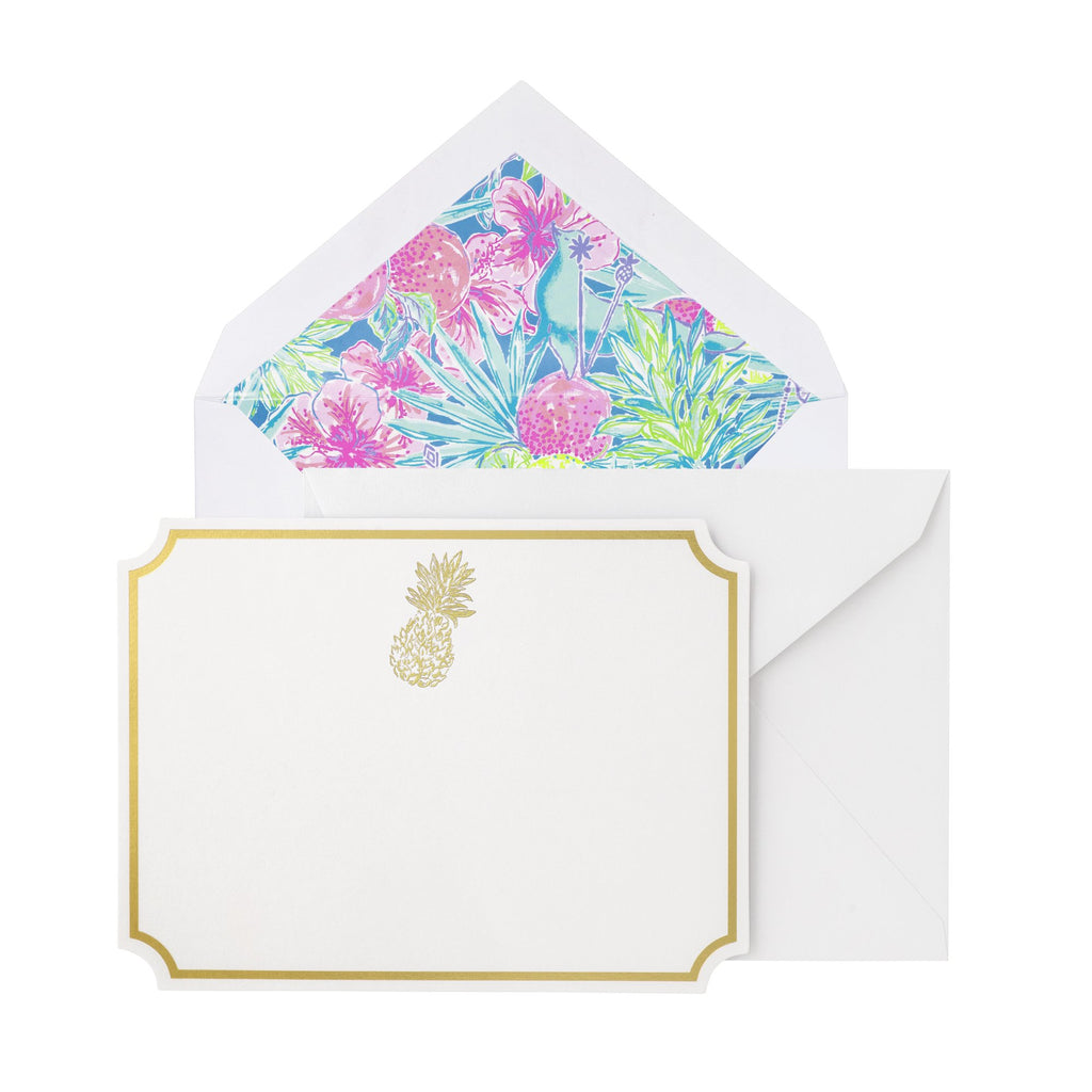Lilly Pulitzer Correspondence Cards, Swizzle In