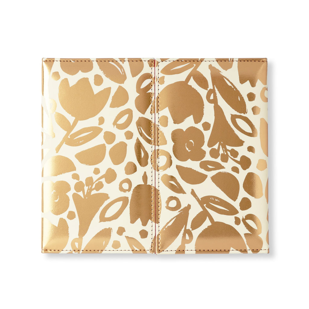 kate spade new york Weekly Calendar & Folio, Golden Floral