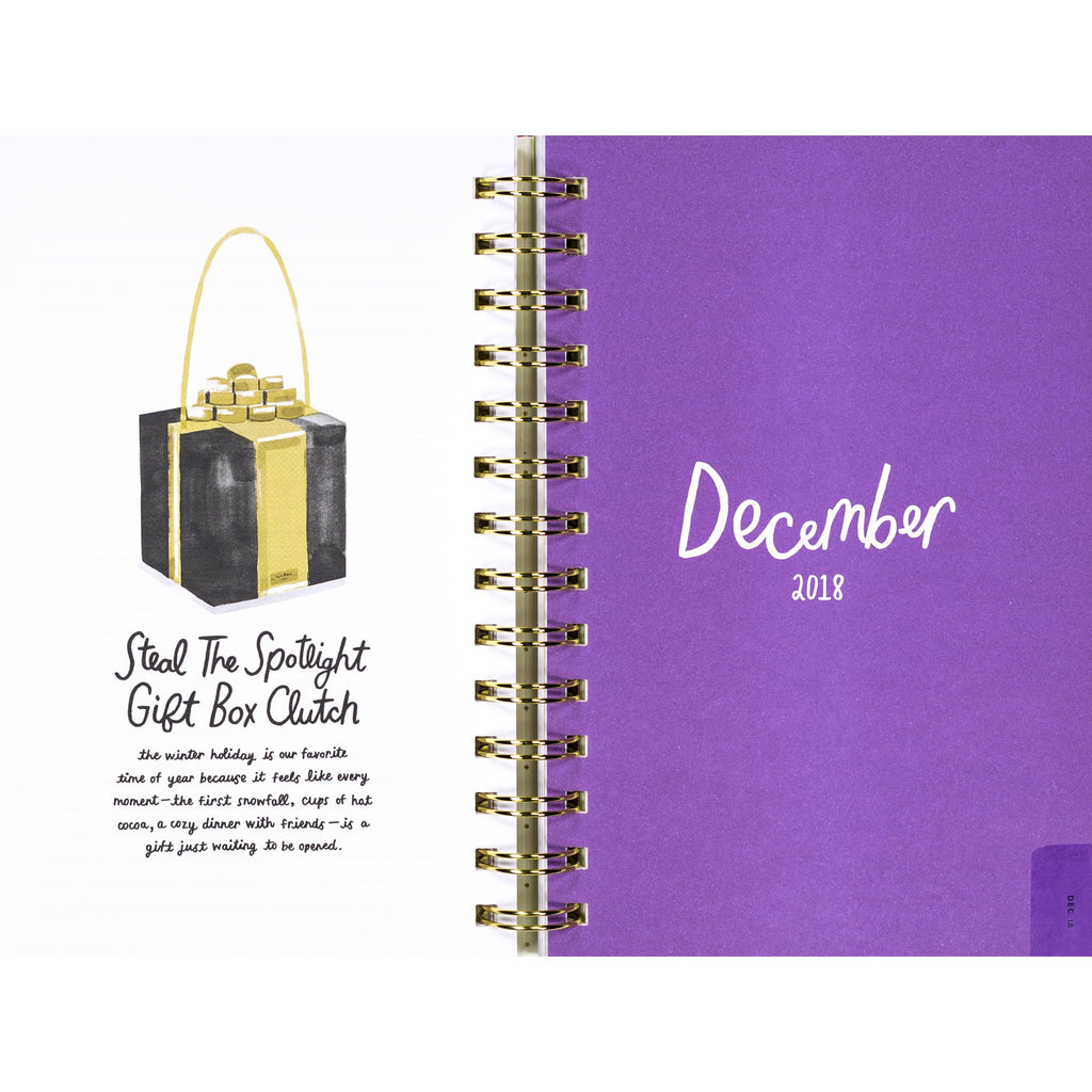 kate spade new york Medium Planner, Illustrative (Aug-Aug)